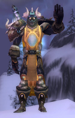 Leo's alter-ego in World of Warcraft