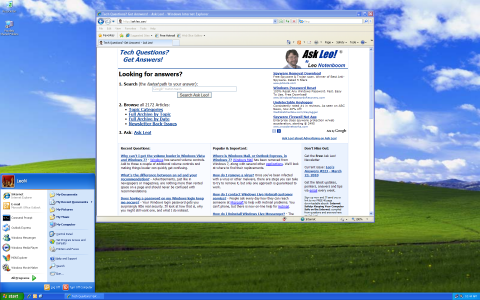 Windows XP displaying at 1920x1200