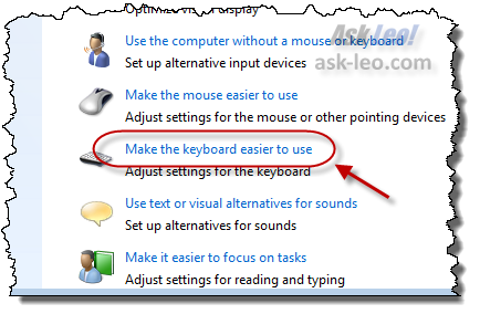 Make the keyboard easier to use