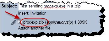 Gmail sending a .zip