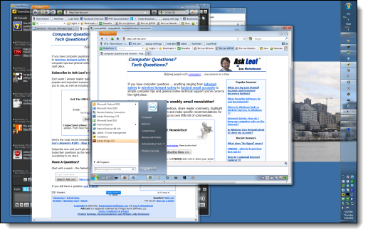 Example of Remote Desktop at work