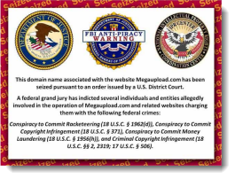 FBI Seizure of Megaupload.com