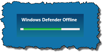 Windows Defender Offline - activity