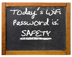Chalkboard Password