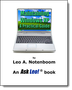 Maintaining Windows XP - A Practical Guide