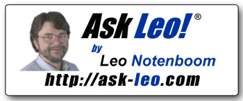Ask Leo! Sticker v2