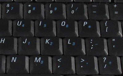 Embedded Key Pad
