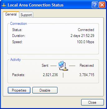 LAN Status Image