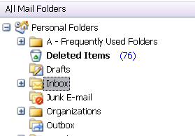 Outlook's Folder Tree