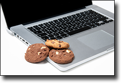 A different kind of cookie on your computer