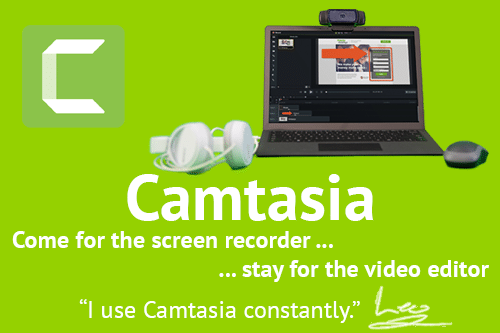 Camtasia: powerful screen recording and video editing