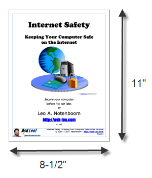 A typical PDF ebook page.